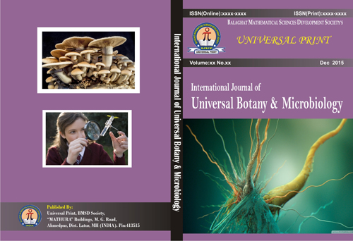 International Journal of Universal Botany & Microbiology